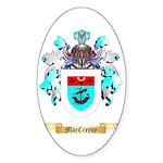 MacCreevy Sticker (Oval 50 pk)