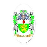 MacCreesh Oval Car Magnet