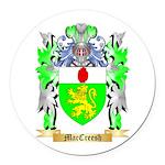 MacCreesh Round Car Magnet