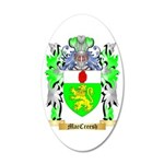 MacCreesh 35x21 Oval Wall Decal