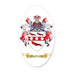 MacCreedy Oval Car Magnet