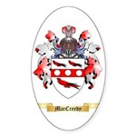 MacCreedy Sticker (Oval 50 pk)