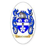 MacCreanor Sticker (Oval 10 pk)