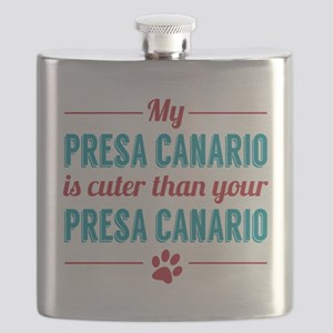 Cuter Presa Canario Flask