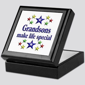 Grandsons are Special Keepsake Box