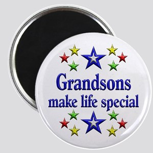 Grandsons are Special Magnet