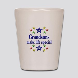 Grandsons are Special Shot Glass