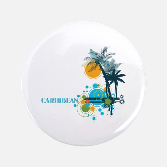 Palm Trees Sun and Circles Button