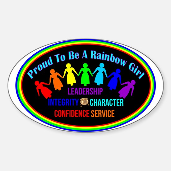 International Order Of The Rainbow Girls Decal