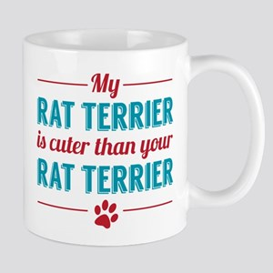 Cuter Rat Terrier Mugs