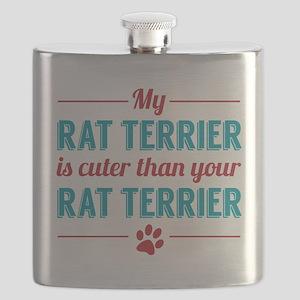 Cuter Rat Terrier Flask
