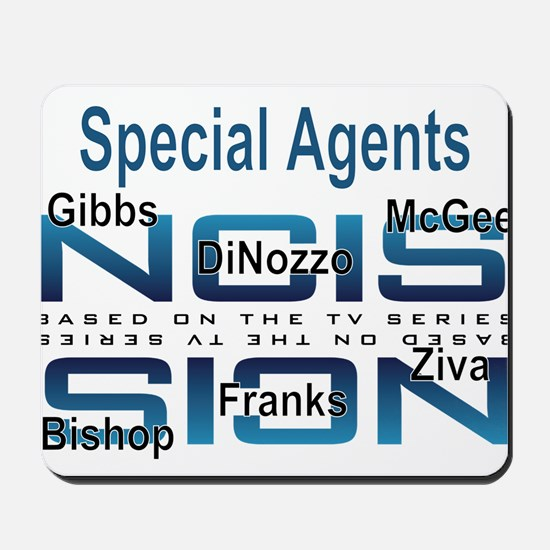 Special Agents of NCIS Mousepad