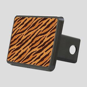 Tiger Fur Rectangular Hitch Cover