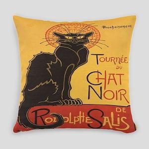 Le Chat Noir Everyday Pillow