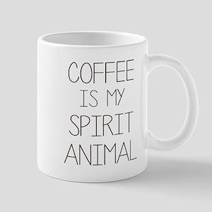 Coffe Is My Spirit Animal Mugs