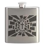 Christian Cross Flask