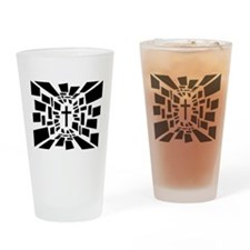 Christian Cross Drinking Glass