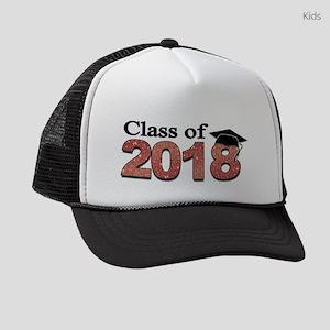 Class of 2018 Glitter Kids Trucker hat