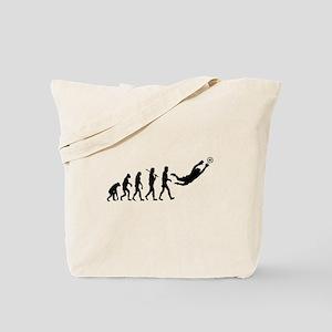 Soccer Goalie Evolution Tote Bag