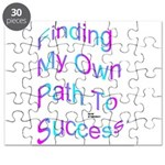 Finding My Own Path to Success. Puzzle