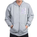 Finding My Own Path to Success. Zip Hoodie