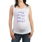 Finding My Own Path to Success. Maternity Tank Top