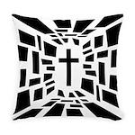 Christian Cross Everyday Pillow