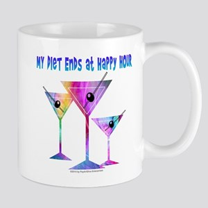 My DIET ENDS at Happy Hour! Mugs