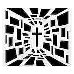 Christian Cross King Duvet