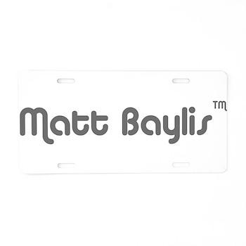 logo-large-transparent Aluminum License Plate
