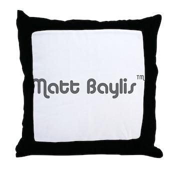 logo-large-transparent Throw Pillow