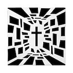 Christian Cross Queen Duvet