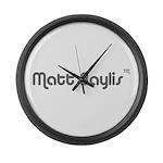 logo-large-transparent Large Wall Clock