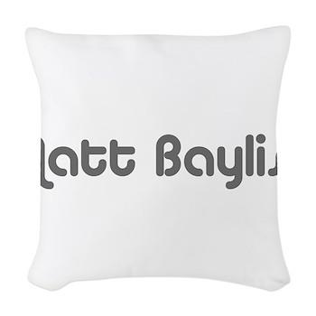 logo-large-transparent Woven Throw Pillow
