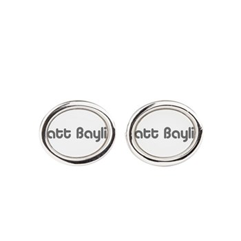 logo-large-transparent Oval Cufflinks