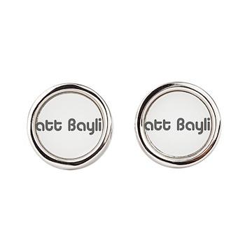 logo-large-transparent Round Cufflinks