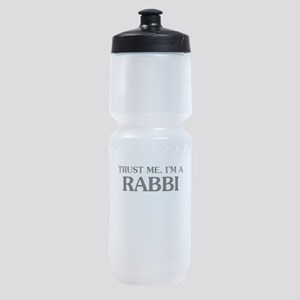 Trust Me Im A Rabbi Sports Bottle