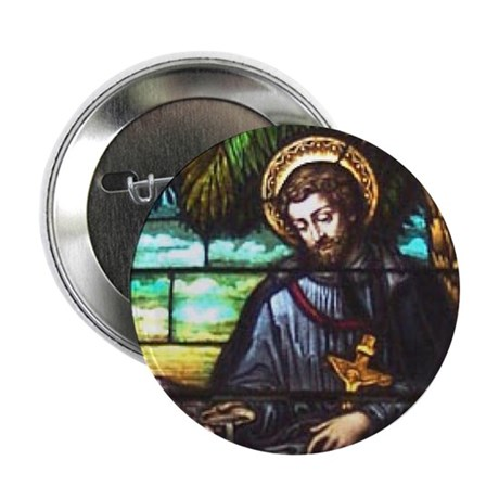 "St. Francis Xavier 2.25"" Button (10 pack)"