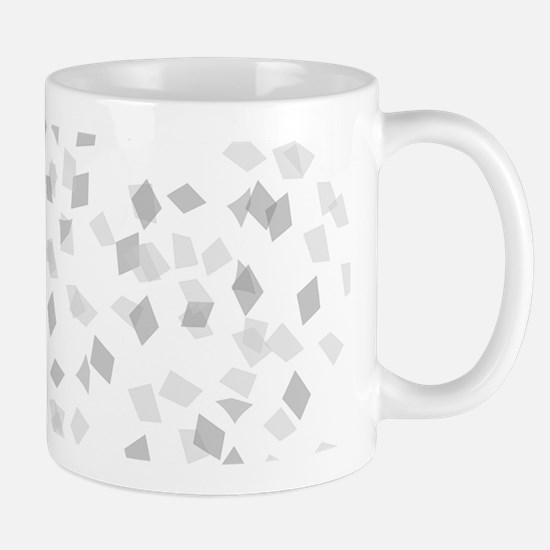 Grey Confetti Mugs