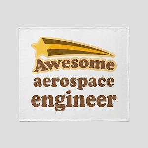Awesome Aerospace Engineer Throw Blanket