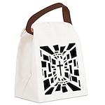 Christian Cross Canvas Lunch Bag