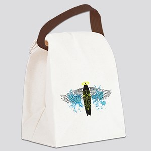 Surf Tribe Angel_cafepress Canvas Lunch Bag