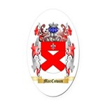 MacCowan Oval Car Magnet