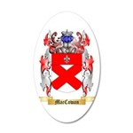MacCowan 20x12 Oval Wall Decal