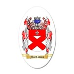 MacCowan 35x21 Oval Wall Decal