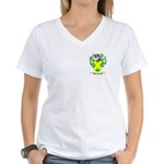 MacCoveney Women's V-Neck T-Shirt