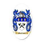 MacCourt Oval Car Magnet