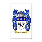 MacCourt Rectangle Car Magnet