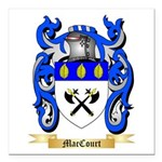 MacCourt Square Car Magnet 3