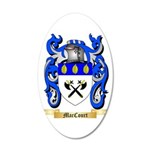 MacCourt 20x12 Oval Wall Decal